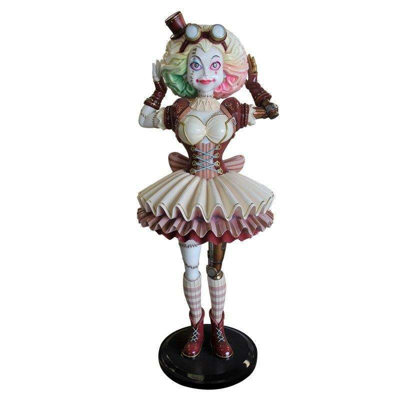 Comic Steampunk Ragdoll Life Size Halloween Decor Prop Statue - LM Treasures
