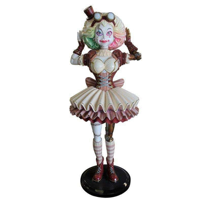 Comic Steampunk Ragdoll Life Size Halloween Decor Prop Statue- LM Treasures