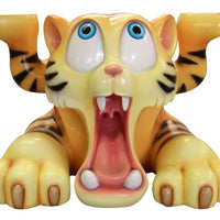 Tiger Bengal Comic Table Prop Life Size Decor Resin Statue - LM Treasures Life Size Statues & Prop Rental