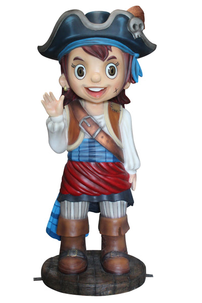Pirate Girl Patty Life Size Statue - LM Treasures Life Size Statues & Prop Rental