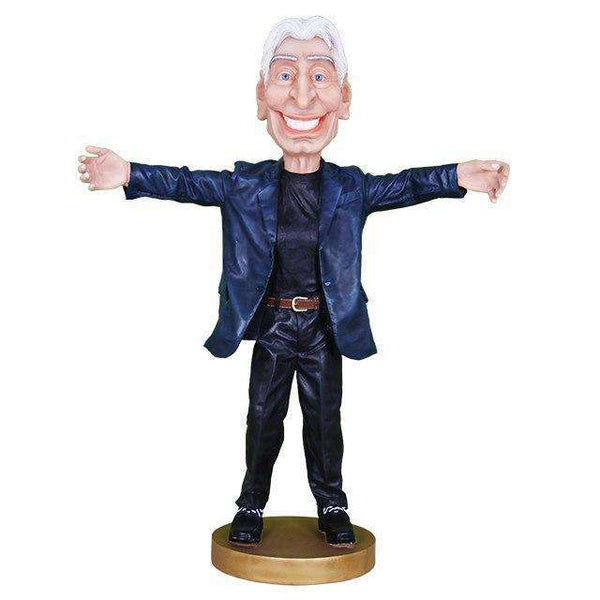 C. Watts Stones Caricature Life Size Statue - LM Treasures Life Size Statues & Prop Rental