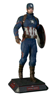 Captain America Life Size Statue From Civil War- LM Treasures