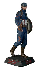 Captain America Life Size Statue From Civil War - LM Treasures Life Size Statues & Prop Rental