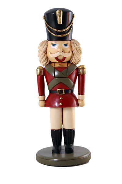 Small Nutcracker 3 ft Size Statue - LM Treasures Life Size Statues & Prop Rental