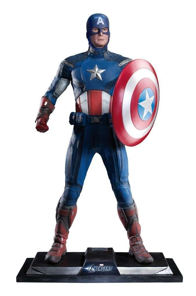 Captain America Life Size Statue From The Avengers - LM Treasures
