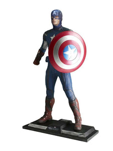 Captain America Life Size Statue From The Avengers - LM Treasures Life Size Statues & Prop Rental