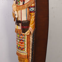 Tobacco Indian Cigar Store Cabinet Life Size Statue - LM Treasures
