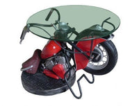 Motorcycle Table Statue - LM Treasures Life Size Statues & Prop Rental