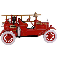 Fire Truck Wall Decor Statue - LM Treasures Life Size Statues & Prop Rental