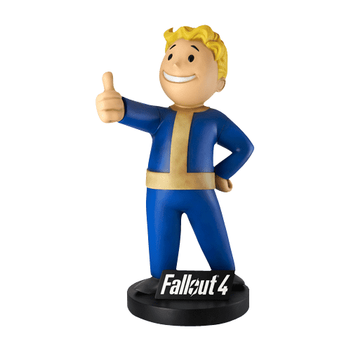 Fallout 4  Vault Boy Life Size Statue - Pre Owned