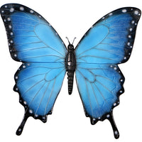 Blue Butterfly Over Sized Statue - LM Treasures Life Size Statues & Prop Rental