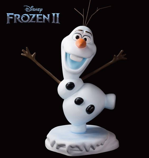 Disney Frozen Olaf Life Size Statue - LM Treasures Life Size Statues & Prop Rental