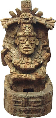 Fountain Inca Aztec Prop Resin Wall Decor- LM Treasures
