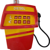 Gas Pump Red Life Size Statue - LM Treasures
