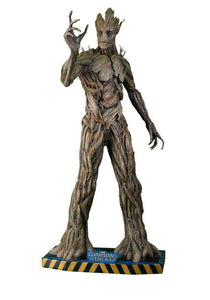 Guardians Of The Galaxy: Adult Groot Life Size Statue - LM Treasures