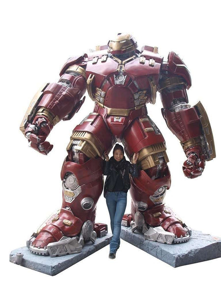 Iron Man Hulk Buster Life Size Statue From Avengers: Age of Ultron - LM Treasures