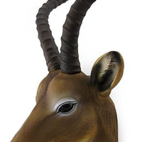 Antelope Head Life Size Statue - LM Treasures