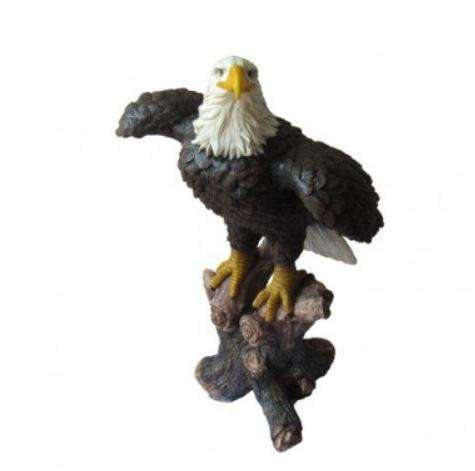 Bald Eagle Wings Open Life Size Statue - LM Treasures Life Size Statues & Prop Rental