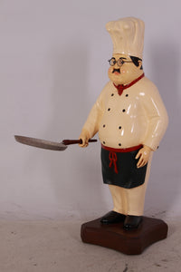 Pizza Chef Small Statue - LM Treasures Life Size Statues & Prop Rental