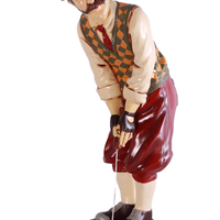 Golfer Aiming Small Statue - LM Treasures