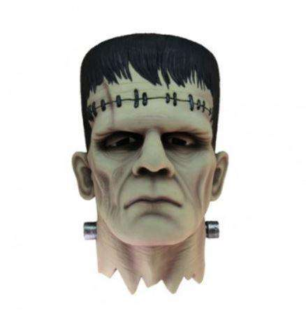 Head Bust Monster Frankenstein Wall Decor Resin Statue - LM Treasures Life Size Statues & Prop Rental