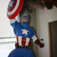 Classic Captain America Life Size Statue Marvel Disney - LM Treasures Life Size Statues & Prop Rental