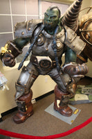 World Of Warcraft Orc Thrall Life Size Statue Rare - LM Treasures