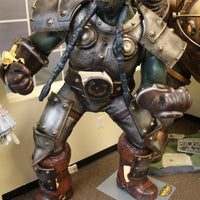 World Of Warcraft Orc Thrall Life Size Statue Rare - LM Treasures Life Size Statues & Prop Rental