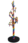Cane Tree Rainbow Prop Display Resin Statue - LM Treasures Life Size Statues & Prop Rental
