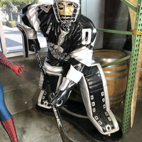 Hockey Player Life Size Statue - Pre Owned - LM Treasures