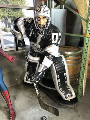 Hockey Player Knights Life Size Statue - Pre Owned- LM Treasures