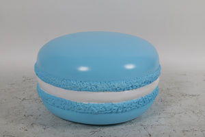 Blue Macaroon Over Sized Statue - LM Treasures Life Size Statues & Prop Rental
