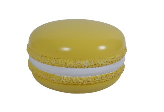 Yellow Macaroon Over Sized Statue - LM Treasures Life Size Statues & Prop Rental