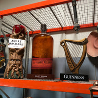 Bulleit Bourbon Large Whiskey Bottle Store Display - LM Treasures Life Size Statues & Prop Rental