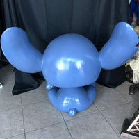 Cartoon Blue Alien Over Sized Statue - LM Treasures Life Size Statues & Prop Rental