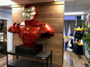 Invincible Iron Man Oversize Bust Statue - LM Treasures Life Size Statues & Prop Rental