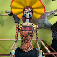 Cazadores Tequila Day Of The Dead Life Size Female Store Display - LM Treasures Life Size Statues & Prop Rental