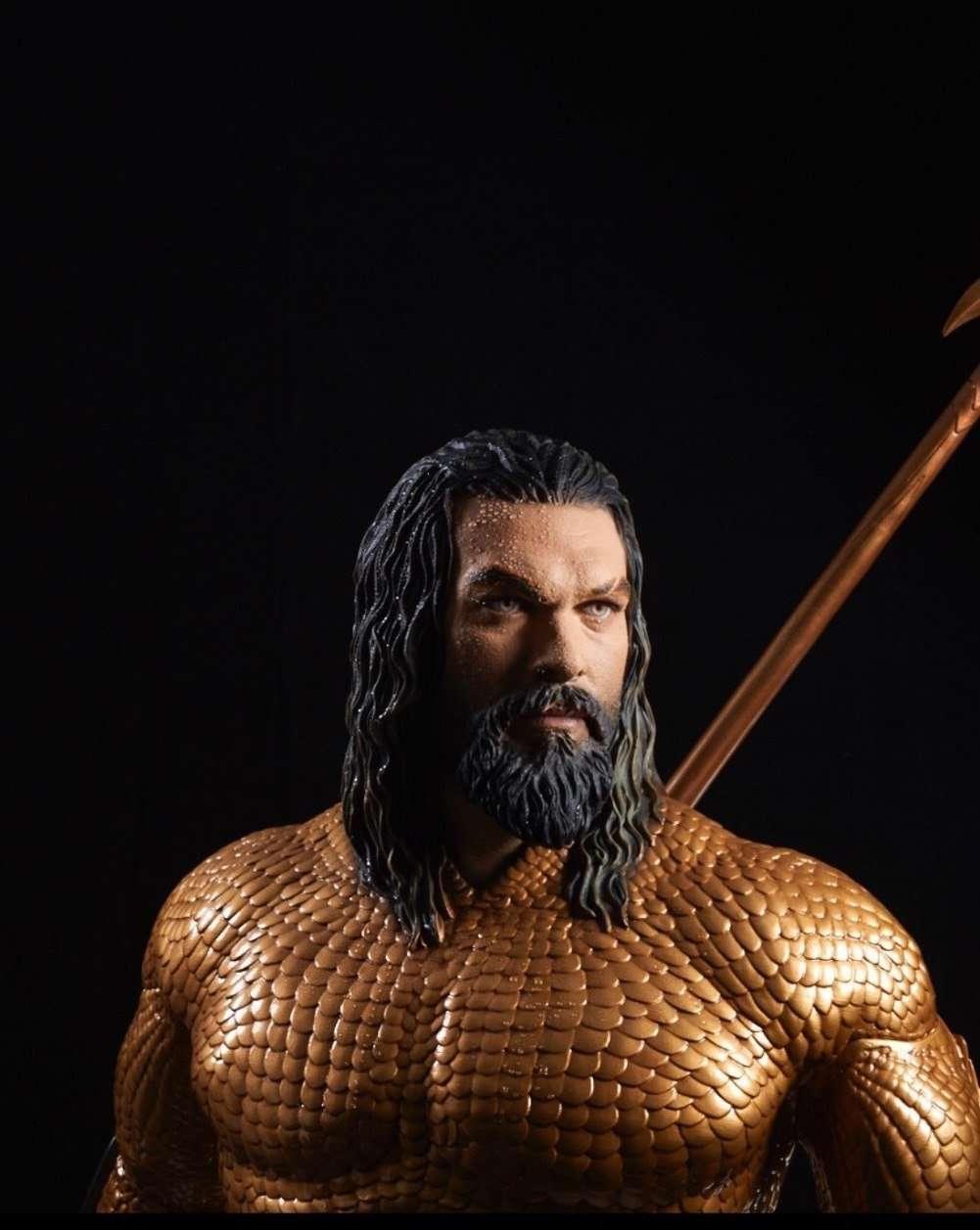 Aquaman Life Size Statue 2018 Movie Prop (New Armor) - LM Treasures