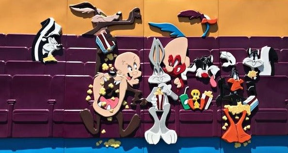 Warner Brothers Looney Tunes Life Size Panels - LM Treasures Life Size Statues & Prop Rental