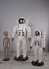 Astronaut 4 ft Space Prop Resin Decor Statue - LM Treasures Life Size Statues & Prop Rental