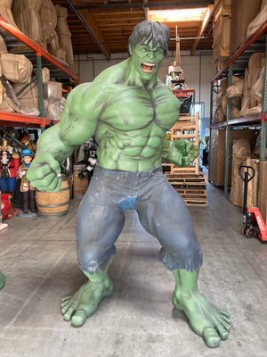 Rare The Incredible Hulk Life Size Statue - LM Treasures Life Size Statues & Prop Rental