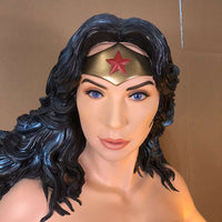 "Wonder Women ""Gal Gadot"" Life Size Statue DC Character Rubie's - LM Treasures Life Size Statues & Prop Rental"