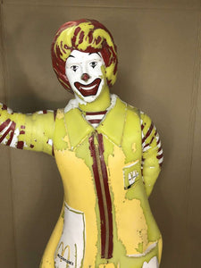 Ronald Mc Donald Life Size Store Statue Display  - Pre Owned - LM Treasures Life Size Statues & Prop Rental