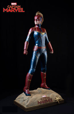 New Captain Marvel Life Size Statue- LM Treasures