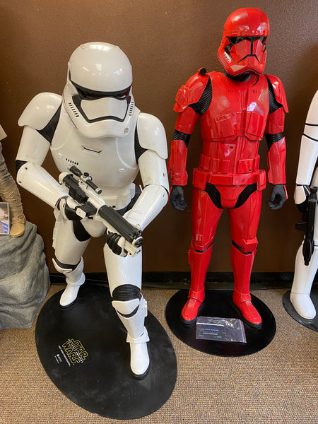 Star Wars Anovos Sith Trooper & Storm Trooper Set of 2 Life Size Statue - LM Treasures Life Size Statues & Prop Rental