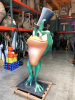 Rare Michigan J. Frog Life Size Statue - Warner Brothers Store Display - LM Treasures Life Size Statues & Prop Rental