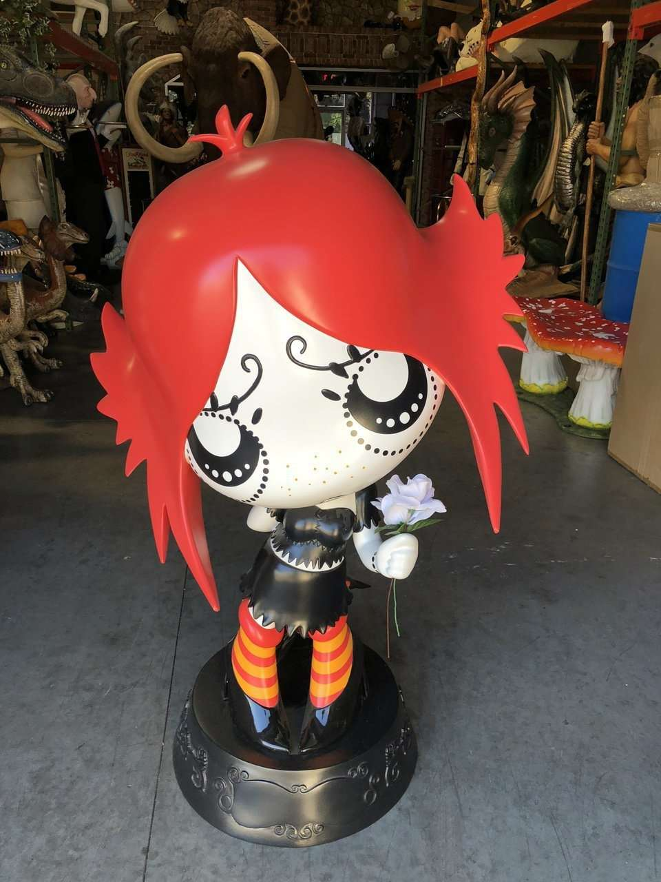 Ruby Gloom Store Display 4.5 FT Statue - Pre Owned - LM Treasures Life Size Statues & Prop Rental