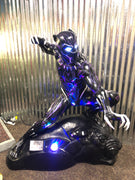 Black Panther Life Size Statue Marvel- LM Treasures