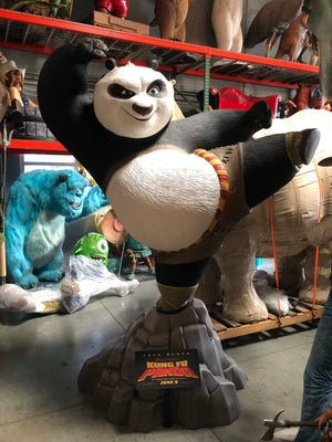 Kung Fu Panda Life Size Statue Rare Movie Display Prop - LM Treasures Life Size Statues & Prop Rental