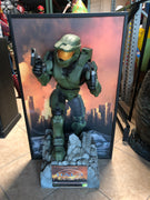 Rare Halo Master Chief Life Size Statue 3ft Wall Decor - LM Treasures Life Size Statues & Prop Rental